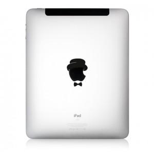iPad Aufkleber Dandy