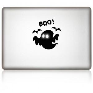 MacBook Aufkleber iBoo Halloween