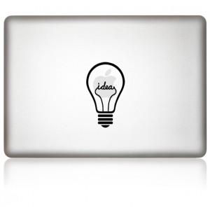 MacBook Aufkleber iDea