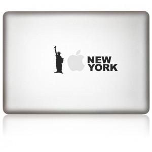 MacBook Aufkleber iLove New York