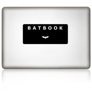 MacBook Aufkleber: BATBOOK
