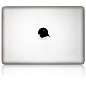 MacBook Aufkleber: Cap The Mac