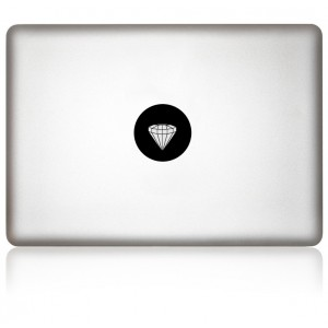 MacBook Aufkleber: DIAMOND