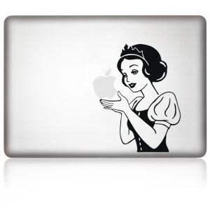 MacBook Aufkleber: SnowWhite