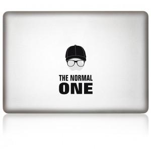 MacBook Aufkleber: THE NORMAL ONE