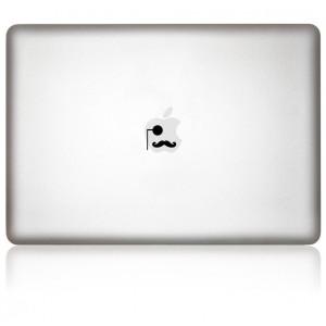 MacBook Aufkleber: Gentleman