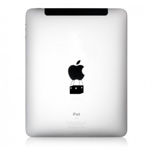 iPad Aufkleber: AirBalloon