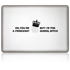 MacBook Aufkleber: Queen