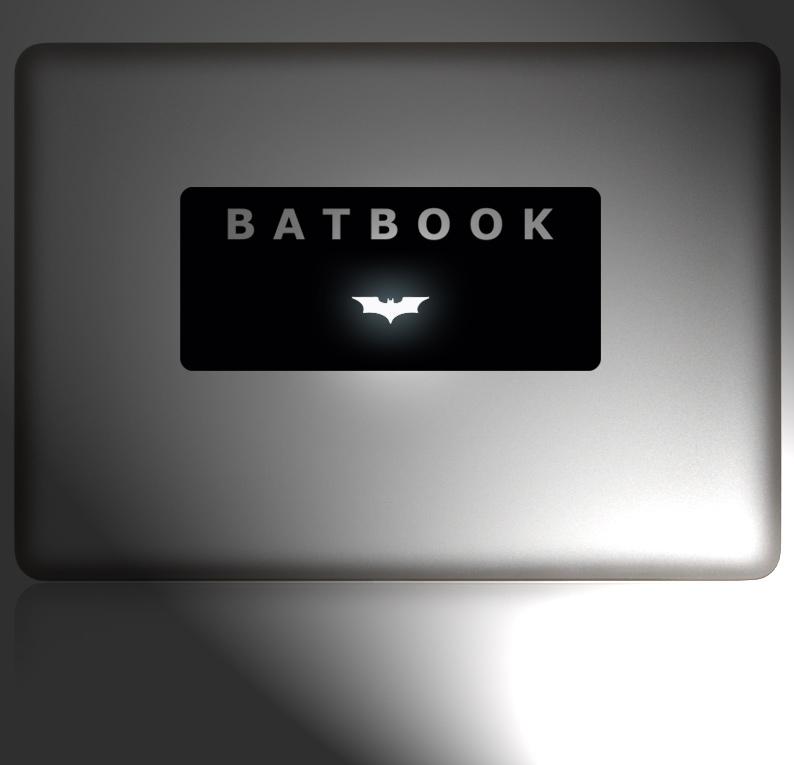 Das einzigartige BATBOOK für dein MacBook