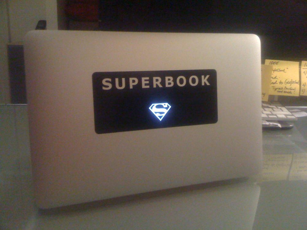 Das einzigartige SUPERBOOK für dein MacBook