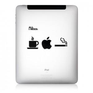 iPad Aufkleber All iNeed