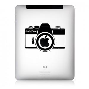 iPad Aufkleber ApfelCam