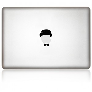 MacBook Aufkleber: Dandy