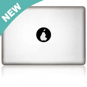 MacBook Aufkleber: Pear