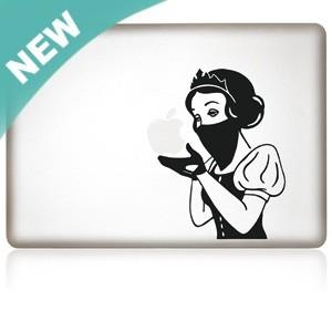 MacBook Aufkleber: SnowWhite Masked