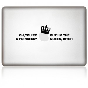 MacBook Aufkleber: Queen