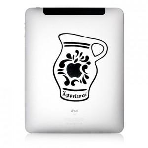 iPad Aufkleber: Äppelwoi