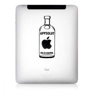 iPad Aufkleber: APPSOLUT